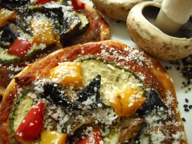 NutriHub Portobello Mushroom Pizza