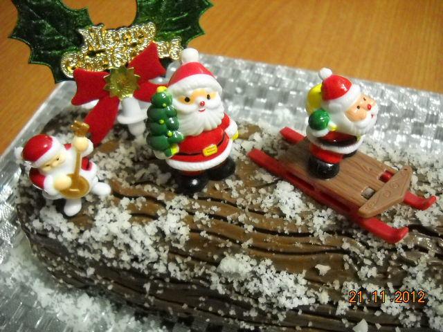 NutriHub Yule Log