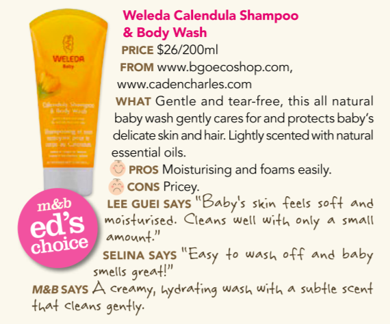 Weleda Calendula Shampoo & Body Wash - Ed's Choice